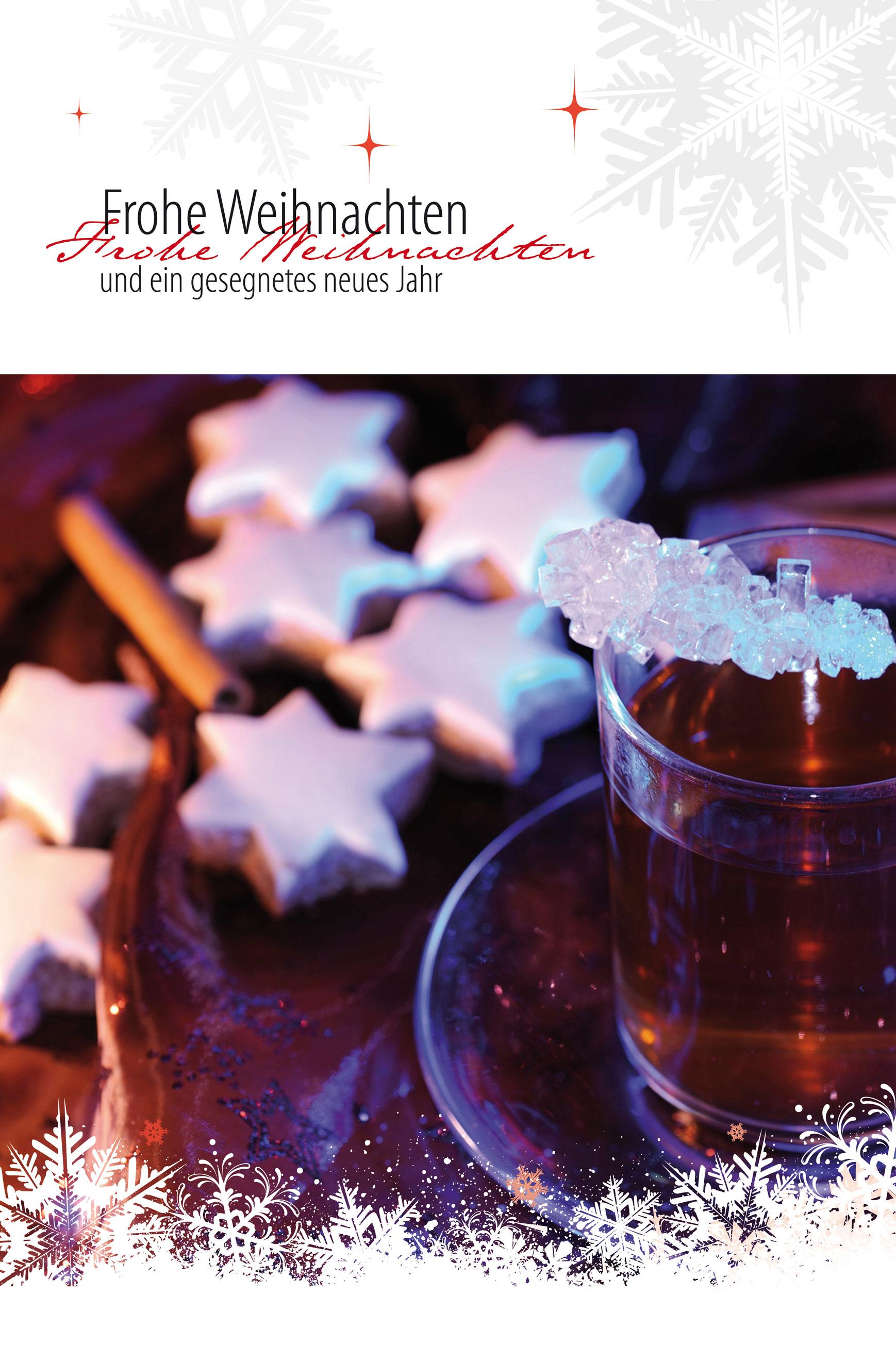 Faltkarte Frohe Weihnachten – Gesegnetes neues Jahr – 4youmedia